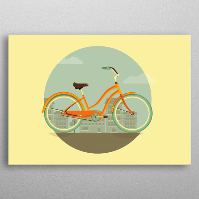 Best way to have your daily commute! metal poster