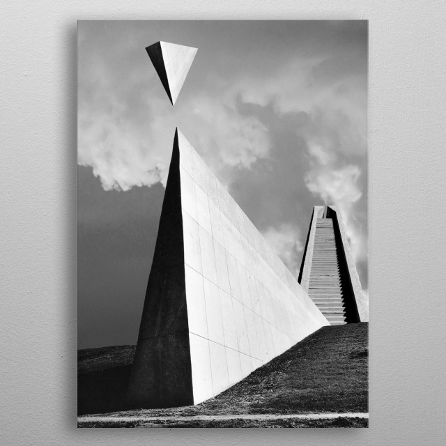 High-quality metal print from amazing Impossible Landscapes collection will bring unique style to your space and will show off your personality. metal poster