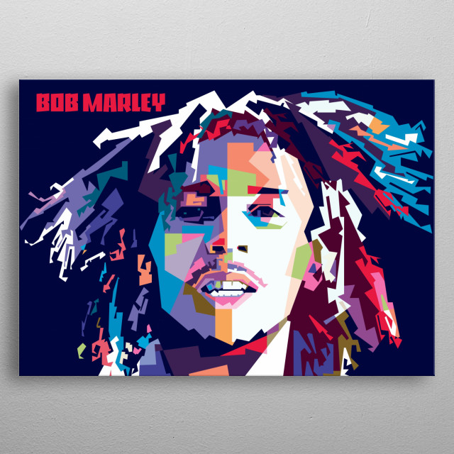 Robert Nesta Marley, OM (6 February 1945 – 11 May 1981) was a Jamaican singer-songwriter. metal poster