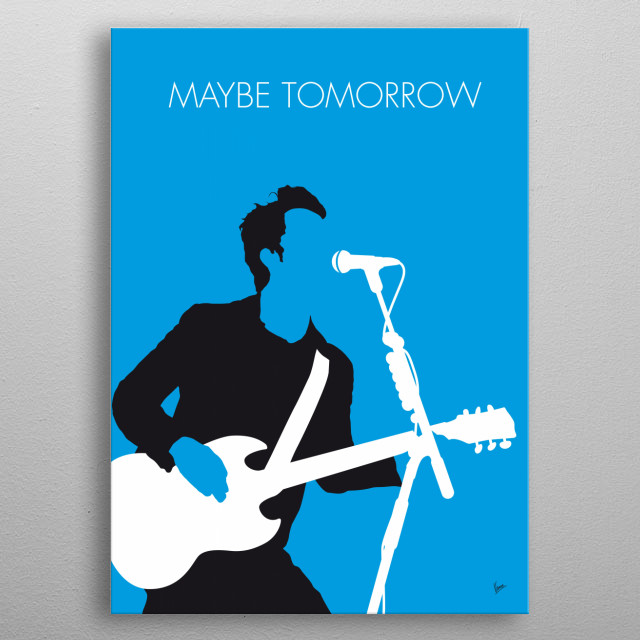 """Maybe Tomorrow"" is a single from the Stereophonics' fourth studio album You Gotta Go There to Come Back (2003). metal poster"