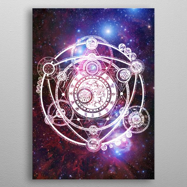 Fullmetal Alchemist metal poster