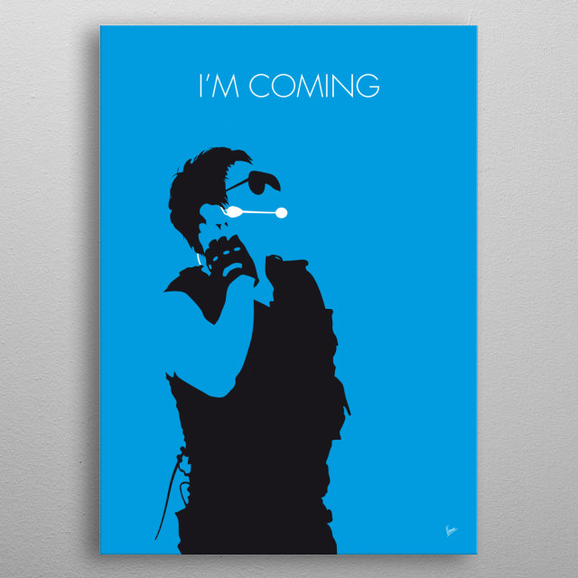 """""""I'm Coming"""" is a Korean-language song and the first single from the album Rain's World by Korean singer Rain (Korean 비 IPA ['piː]). metal poster"""