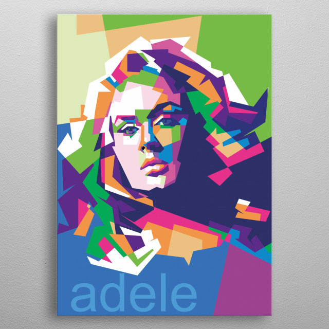 Adele Laurie Blue Adkins MBE is an English singer and songwriter. metal poster