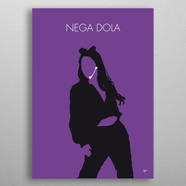 """""""Nega Dola (내가 돌아)"""" is a digital single by BoA. It was released on January 31 2018 as a pre-release for her mini-album One Shot Two Shot. metal poster"""