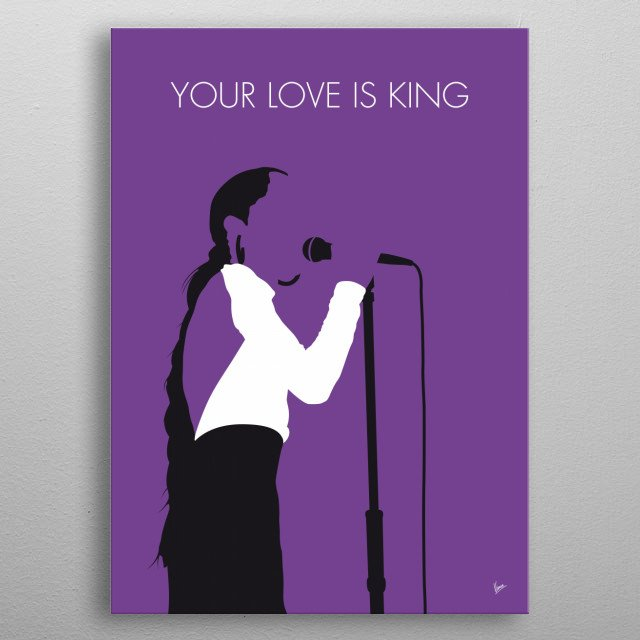 """""""Your Love Is King"""" is a song by English band Sade from their debut album Diamond Life (1984).  metal poster"""