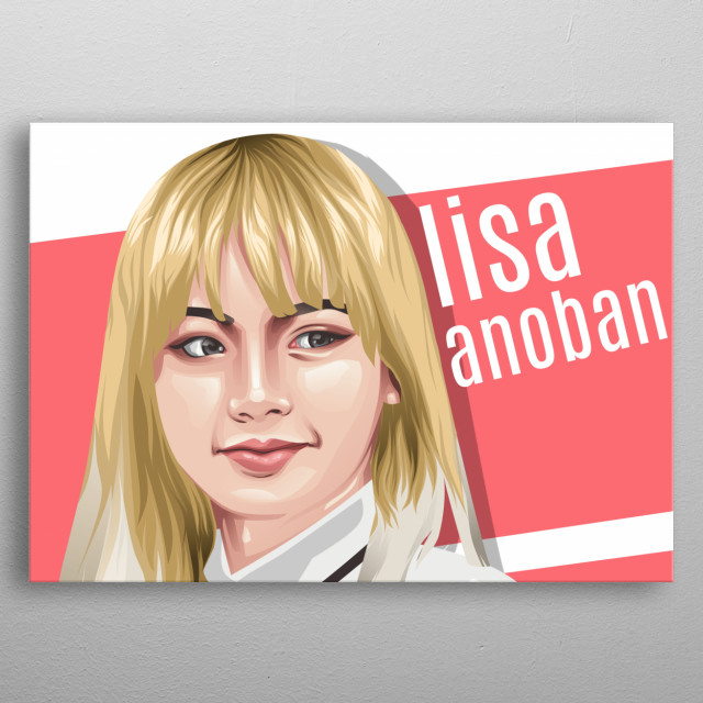 Lalisa Manobaan by Moch Saiful | metal posters - Displate