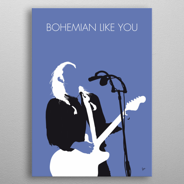 """""""Bohemian Like You"""" is a song by American alternative rock band The Dandy Warhols.   metal poster"""