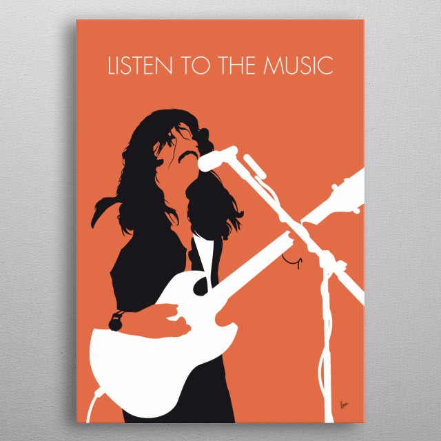 """""""Listen to the Music"""" is a song recorded by the Doobie Brothers on their second album Toulouse Street. This song was the Doobie Brothers' fi metal poster"""