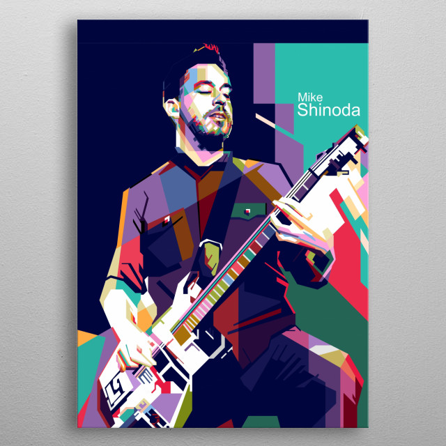 Michael Kenji Shinoda is an American musician, singer, songwriter, rapper, record producer, and graphic designer. metal poster