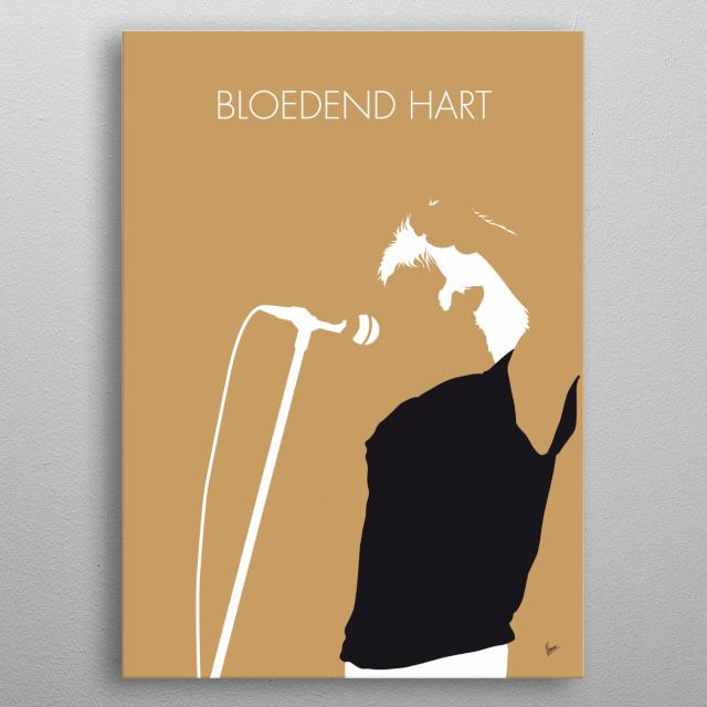"""""""Bloedend hart"""" is een nummer van de Nederlandse band De Dijk. Het nummer werd uitgebracht op het naar de band vernoemde debuutalbum. metal poster"""