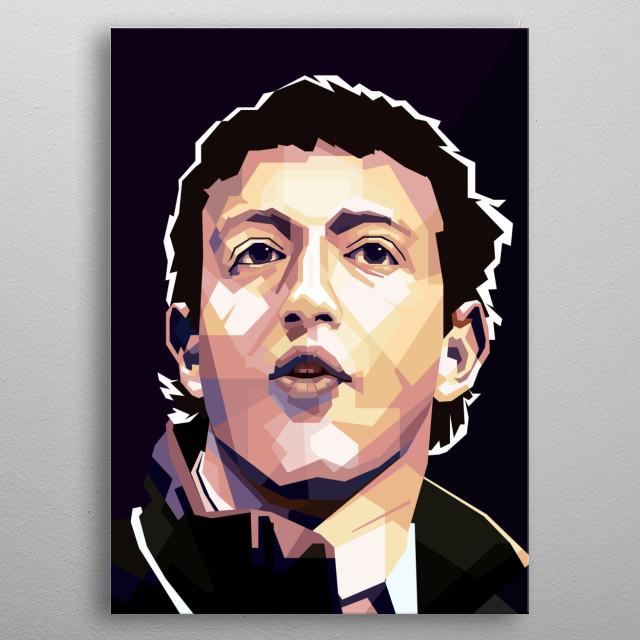 Mark Elliot Zuckerberg is a computer programmer and Internet entrepreneur. metal poster