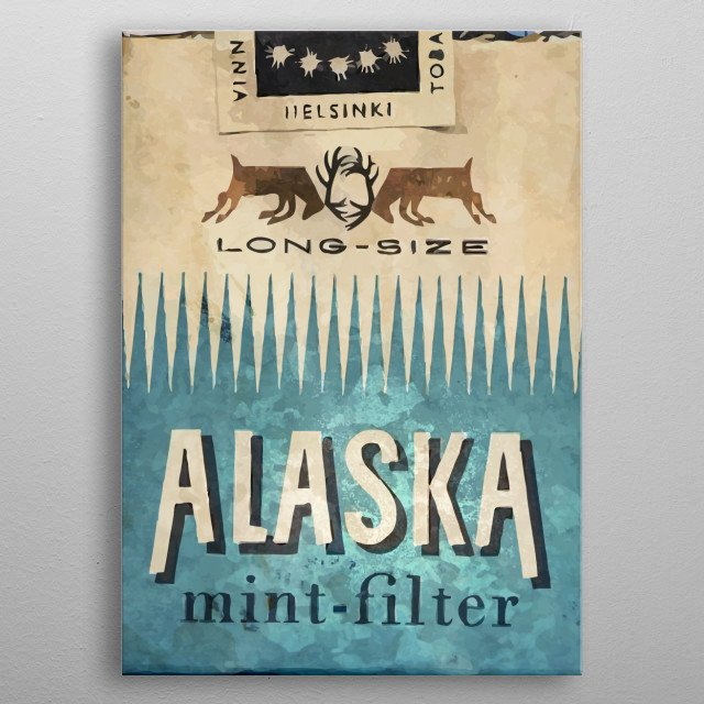 The perfect retro posters for a perfectly unknown place  metal poster