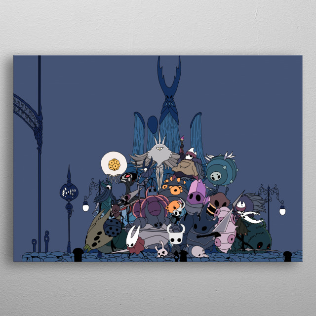 Rather big and painful art. Has almost every character in the game. metal poster