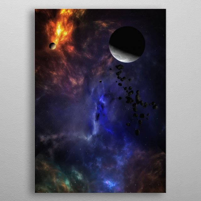 High-quality metal wall art meticulously designed by AGaymard would bring extraordinary style to your room. Hang it & enjoy. metal poster