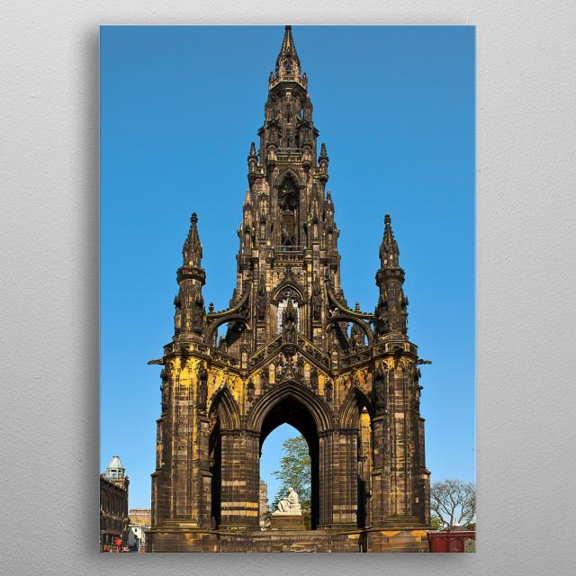 Edinburgh, Scotland metal poster