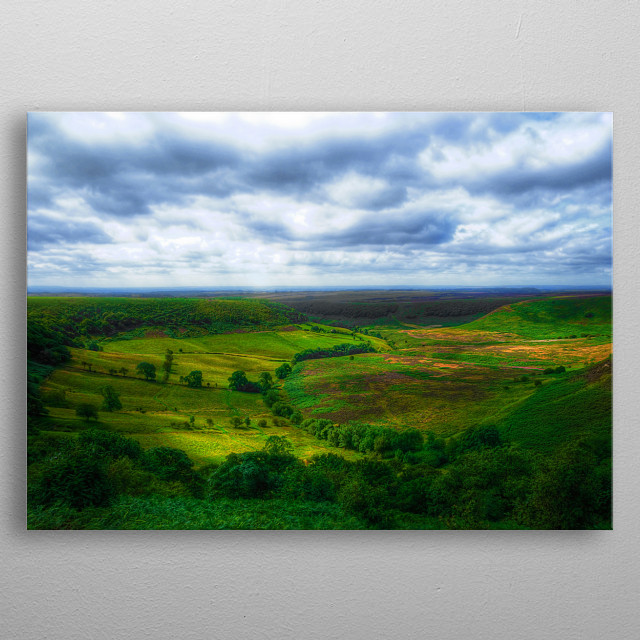 The Hole of Horcum, North Yorkshire, UK metal poster