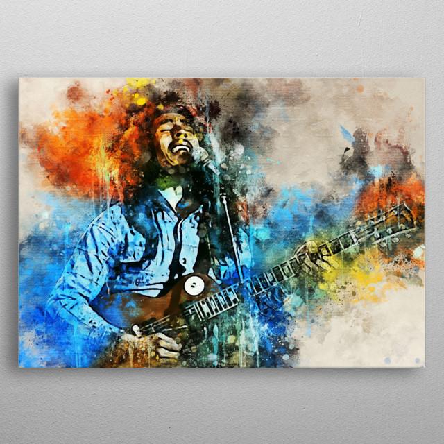 Robert Nesta Marley Bob Marley is a Jamaican singer, songwriter and reggae musician metal poster