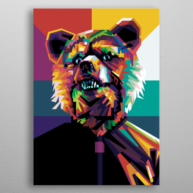 i make this illustration last year and i hope fans of man with a mission will be like it metal poster