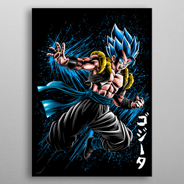 fusion Ink attack metal poster