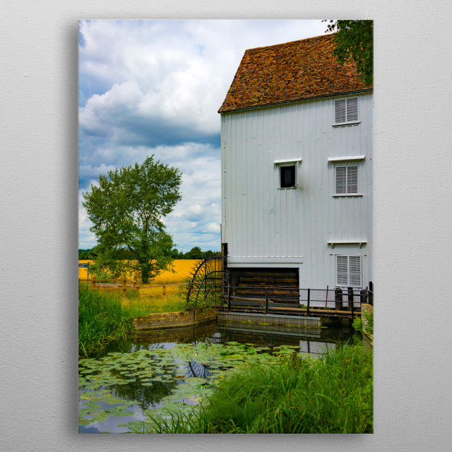 Wicken Fen in Anglesey abbey, Suffolk, England metal poster