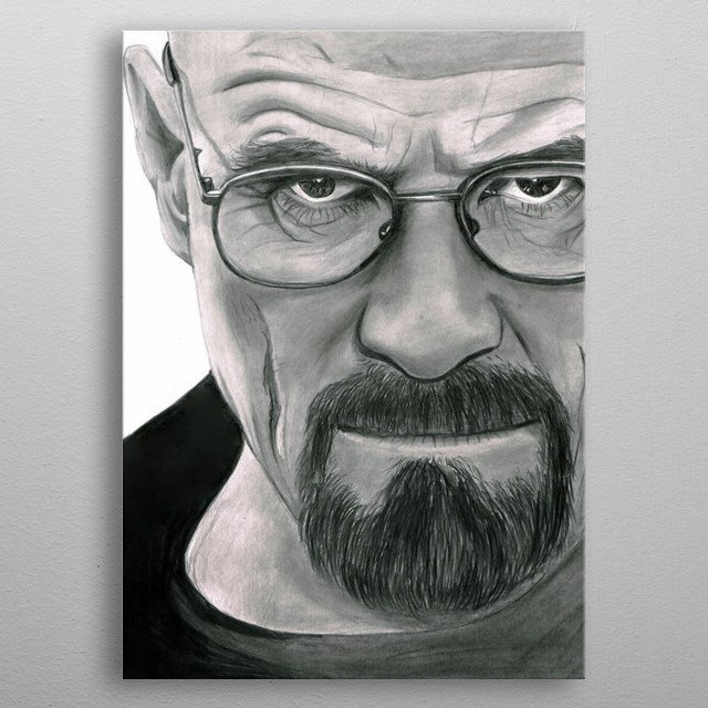 The Chemist Design Just For Breaking Bad Lovers. metal poster