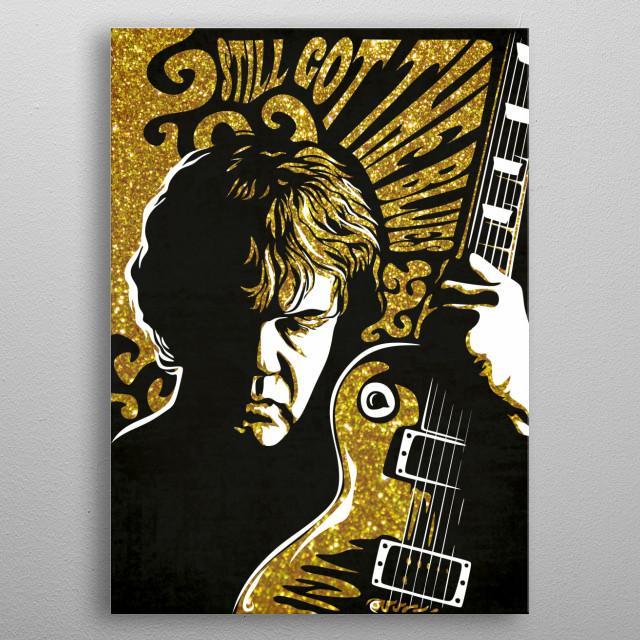 Robert William Gary Moore was a Northern Irish rock guitarist and singer-songwriter. metal poster