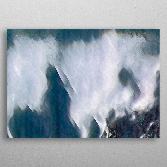 abstract background and texture metal poster