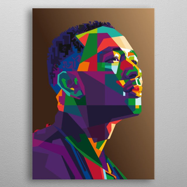 John Legend, is an American singer, songwriter, record producer, and actor metal poster
