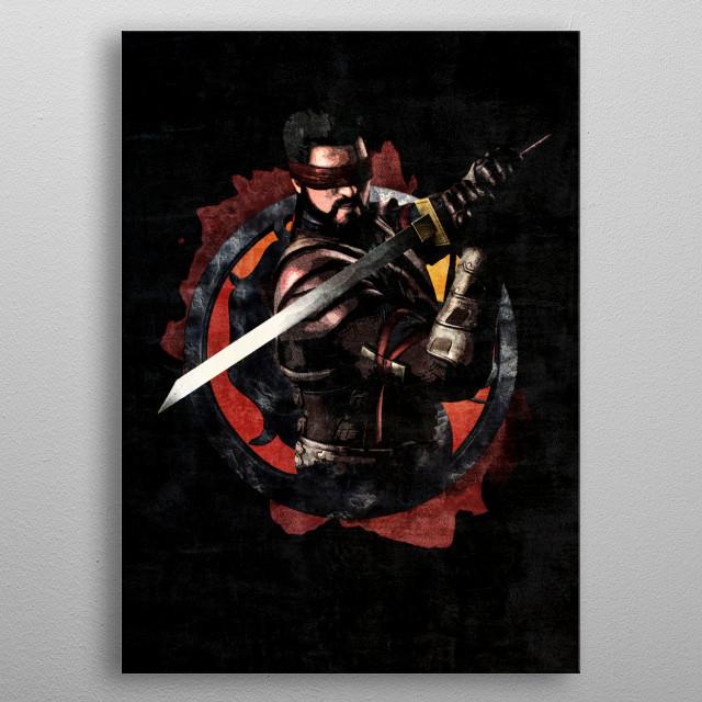 Mortal Kombat Kenshi by J P  Voodoo | metal posters - Displate