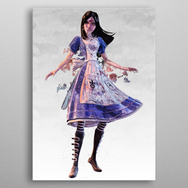 Alice Madness Returns metal poster