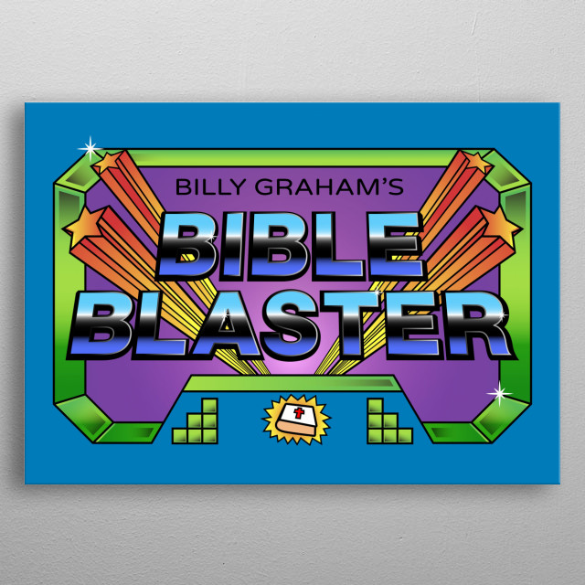 This is the best game ever! metal poster