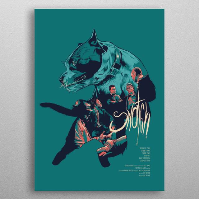 alternative movie poster metal poster
