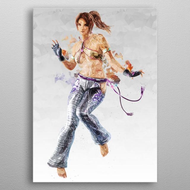 Christie Monteiro metal poster