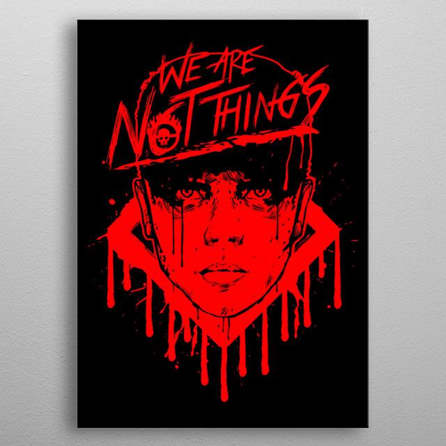 Furiosa. Guide us. metal poster