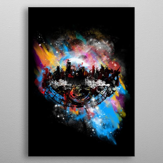 Noah's spatial ark metal poster