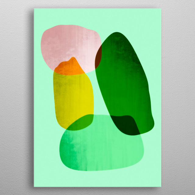 Abstract design by Rockett Graphics metal poster
