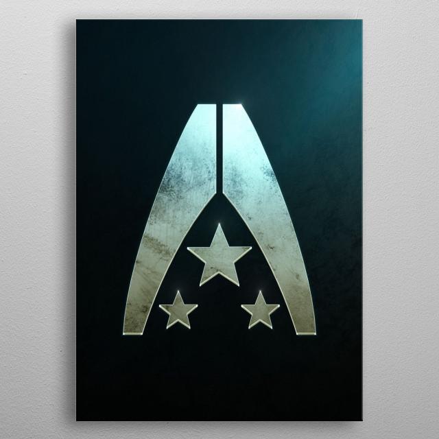 Alliance metal poster