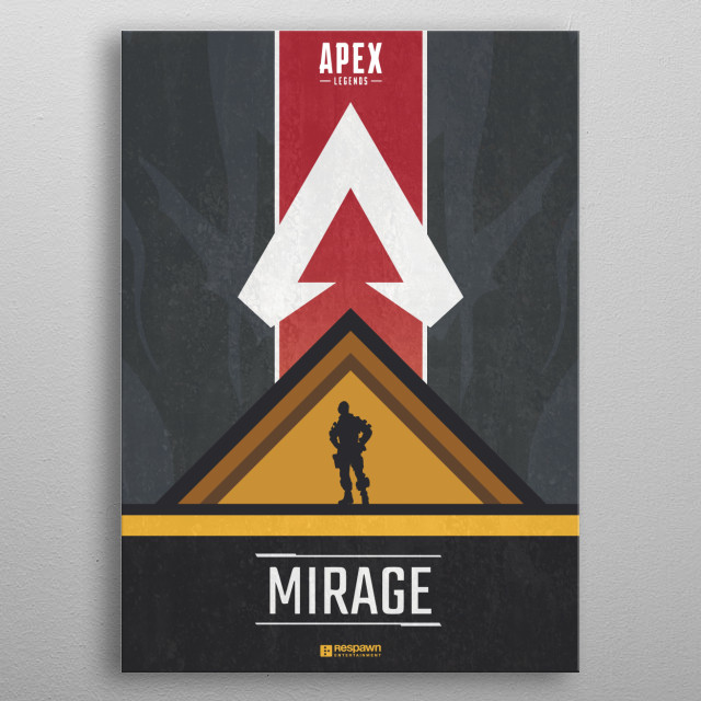 Mirage Apex Legends by Jude Beavis | metal posters - Displate
