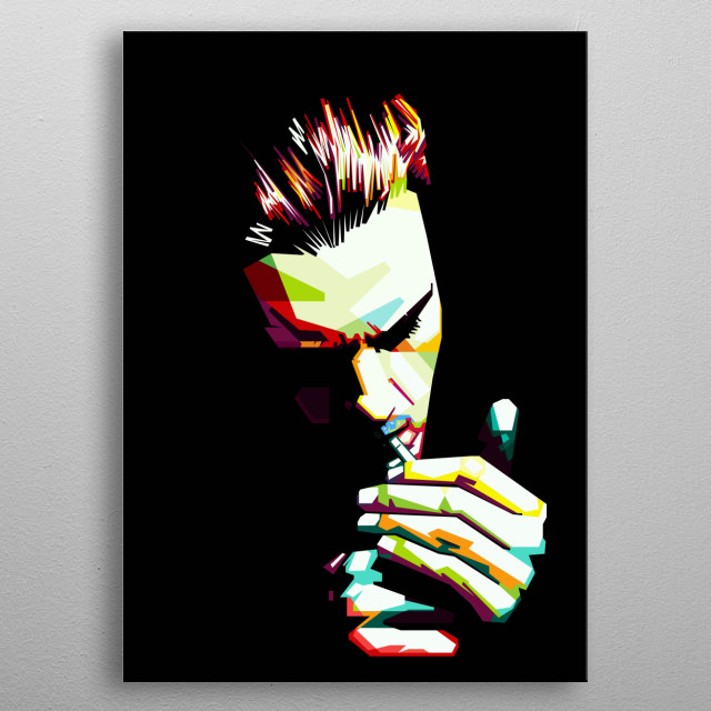 High-quality metal print from amazing Wpap collection will bring unique style to your space and will show off your personality. metal poster