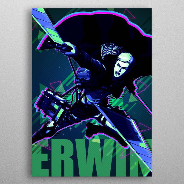 Erwin Smith metal poster