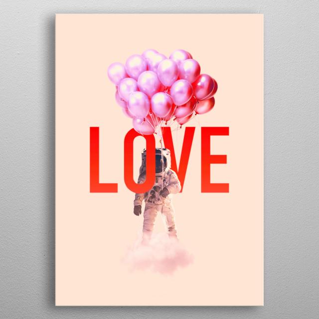 Lover metal poster