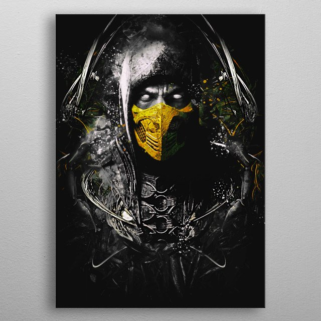 who is next? metal poster