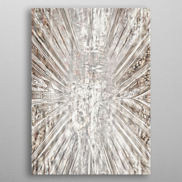 abstract beige texture background metal poster