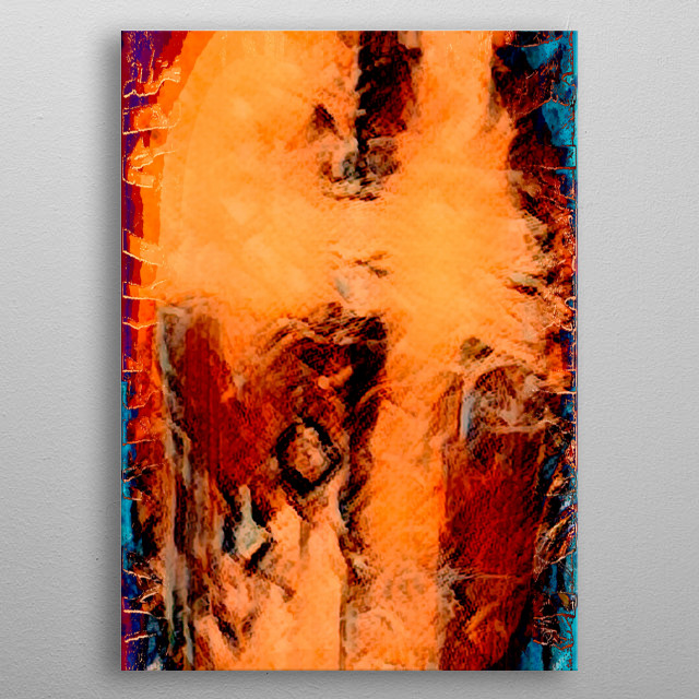 abstract modern texture background metal poster