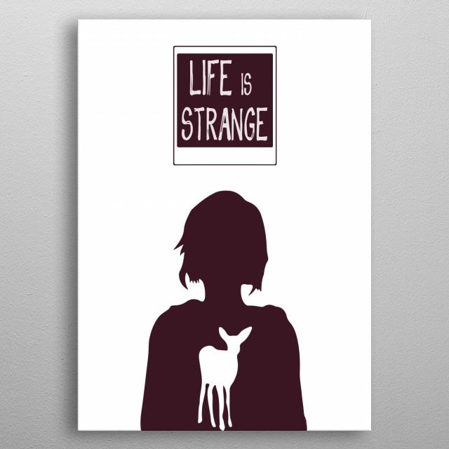 Life Is Strange Spirit - Inspired By Life Is Strange Game metal poster