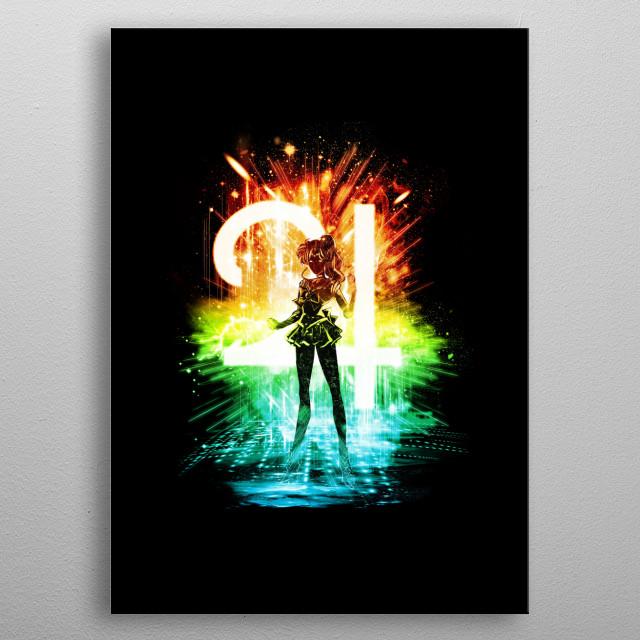 sailor jupiter metal poster