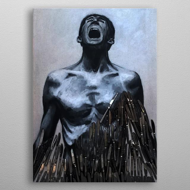 original art metal poster