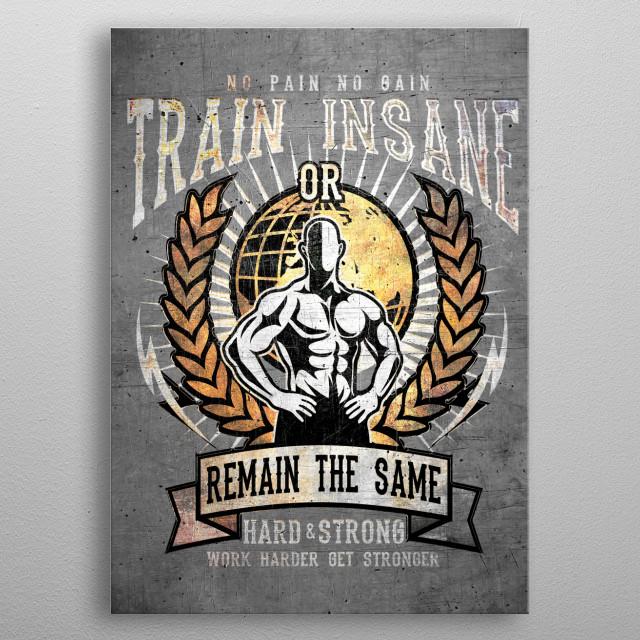 Perfect Gym Metal Poster metal poster