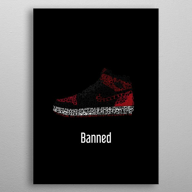 High-quality metal print from amazing Sneakers And Kicks collection will bring unique style to your space and will show off your personality. metal poster