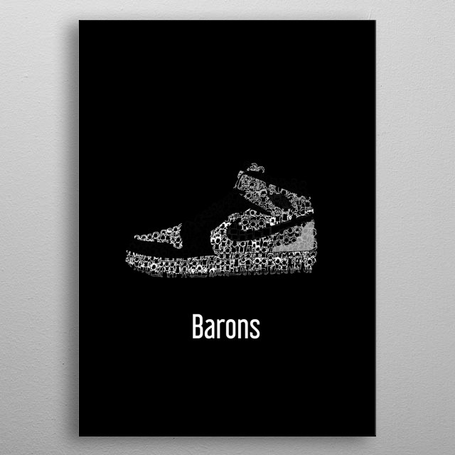 Fascinating metal poster designed by Wenz NewEra. Displate has a unique signature and hologram on the back to add authenticity to each design. metal poster